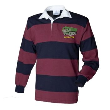 Stolly Operator  Embroidered Rugby Shirt